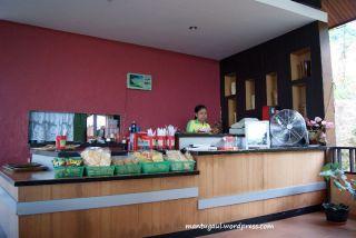 Kasir restoran Villa Bukit Mas Singkawang
