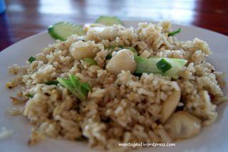 Nasi goreng seafood Villa Bukit Mas Singkawang