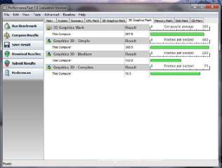 Passmark Performance Test 3D Graphics Mark