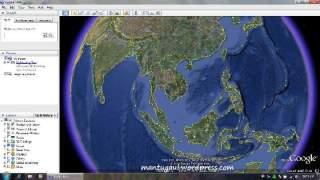 Jalankan Google Earth tanpa lag