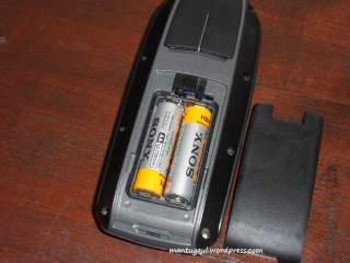 Masukkan baterai