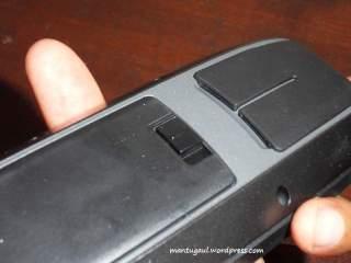 Tutup baterai dengan pastikan bunyi klik