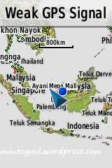 Tampilan map