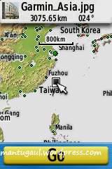 Posisi peta foto geotag