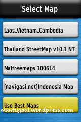 Ada fitur use best map