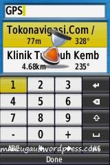 Keyboard angka