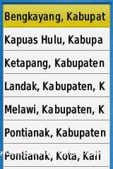 Cari alamat di berbagai kota