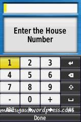 Masukkan nomor rumah