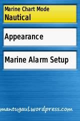 Setting marine