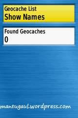 Setting geocache