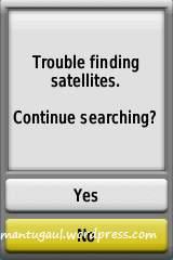GPS dimatikan
