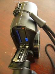 Slot baterai dan memory card