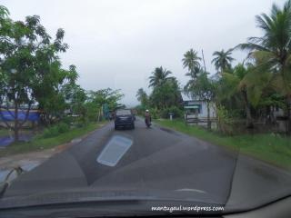 Jalan menuju Singkawang