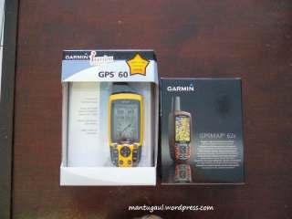 Perbandingan kotak dengan GPS 60