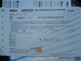 Worldwide service warranty