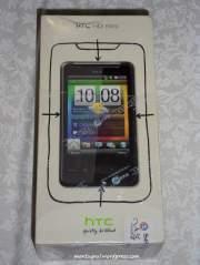 Kotak HTC HD mini masih segel