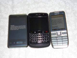 HTC HD mini, Onyx dan E52