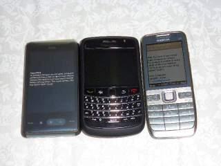 HTC HD mini, Onyx dan E52
