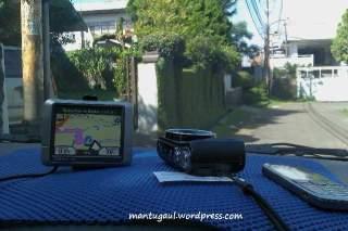 Siap jalan dengan GPS