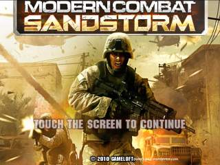 Modern Combat Sandstorm HD