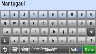 Sensor rotate langsung jadi keyboard qwerty
