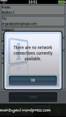 Harus ada jaringan wifi