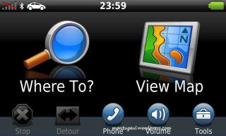 Screenshot homescreen