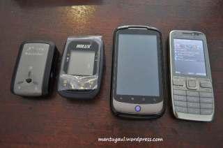 Perbandingan dengan i747, Nexus One dan Nokia E52