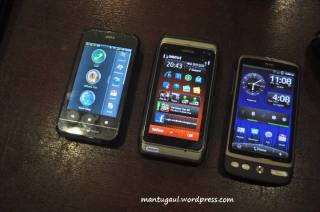 A10 vs Nokia N8 vs HTC Desire