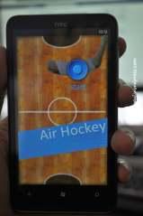 Game air hockey