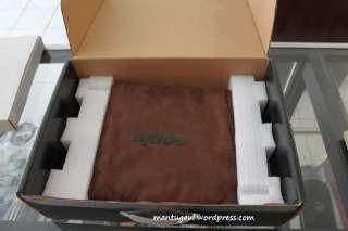 Wah dibalut sarung kulit coklat
