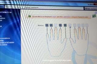 Hanya bisa kenali 6 jari saya