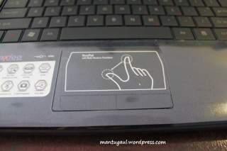 Hexapad dengan multi touch