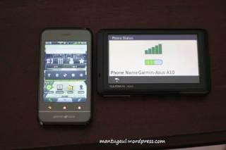Nuvi pairing bluetooth untuk telepon pakai Garmin Asus A10