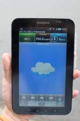 GPS navitel, lihat cuaca
