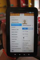 Contacts langsung sync