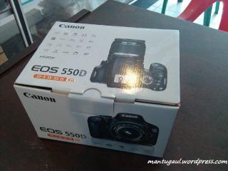Kotak Canon 550D