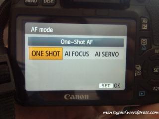 Pengaturan Auto Focus