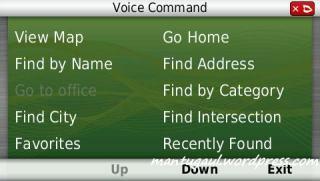 Voice command (ASR)