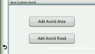 Bisa bikin daerah/jalan yang ingin dihindari