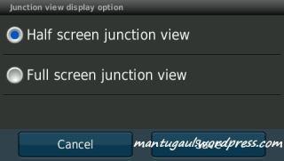 Mau JCV full atau half screen