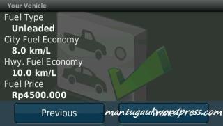 Eco route