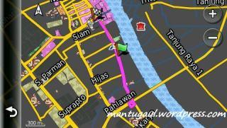 Ini peta trip planner