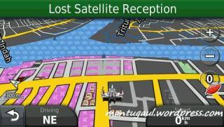 Langsung menuju ke lokasi tujuan (drive mode)