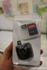 Video recorder Garmin GDR10 dan memory card 8GB class 6