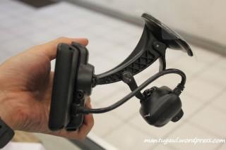 Posisi Nuvi terpasang car mount & kamera juga terpasang