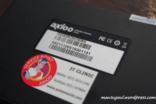 Sticker axioo