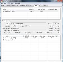 Crystalmark Disk (SSDnya sandisk)
