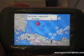 Peta laut bluechart traditional