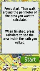 Area calculation